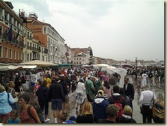 Wall to wall people Venice (Small)