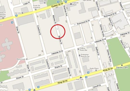 Massey Street Toronto