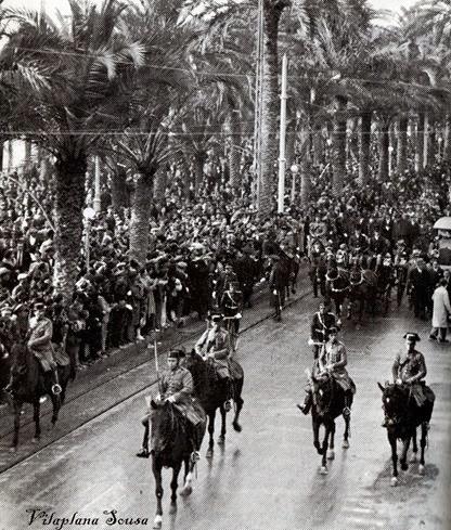 recibiminto Alcala Zamora 1932 Alicante