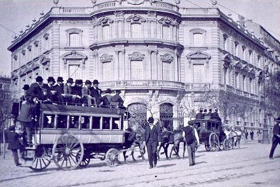 1900 A los toros (Cibeles)