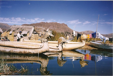 Things to do in Titicaca: traditional boats