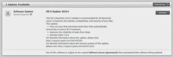 Apple releases OS X 10.9.4, iOS 7.1.2, and Apple TV update via TUAW