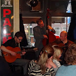band playing at De Gevulde Gaper in Amsterdam, Noord Holland, Netherlands