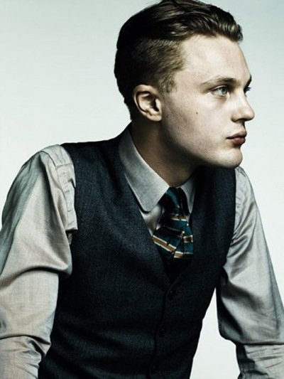 Michael Pitt by Hedi Slimane for Another Man F/W 2011. Styled by Alister Mackie