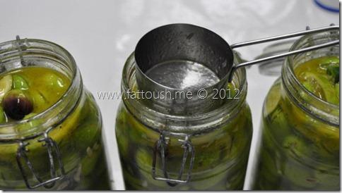 وصفة كبيس الزيتون الأخضر من www.fattoush.me