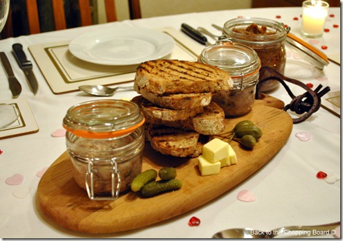 Potted Duck with Date, Fig and Apple Chutney