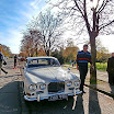 Jaguar old timer... Commercial film shooting, Vác - de itt most London