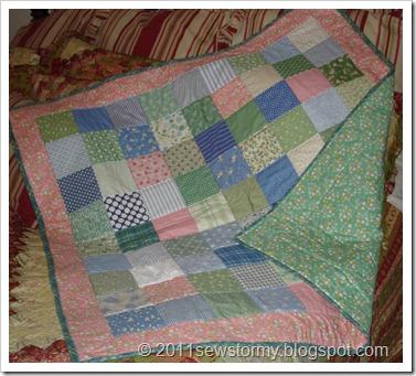1930's baby quilt