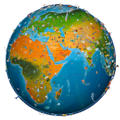 App world map atlas 2016 APK for Kindle