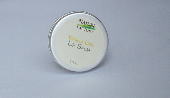 Nature Factory Lip Balm