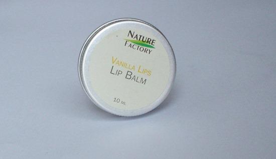Nature Factory Lip Balm