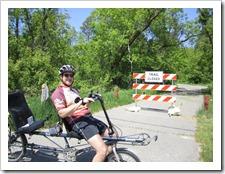 Biking the Paul Bunyan Trail from Walker to Bemidji, MN