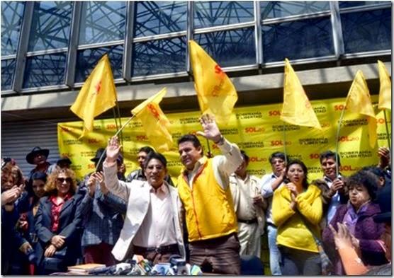 Elecciones de gobernadores 2015 en Bolivia