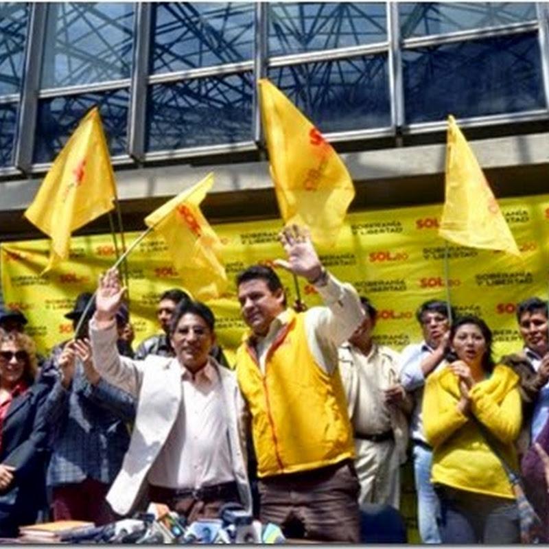 La Paz: Patzi se lanza por la Gobernación paceña #BoliviaVota