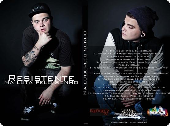 """Resistente – Álbum """"Na Luta Pelo Sonho"""""""