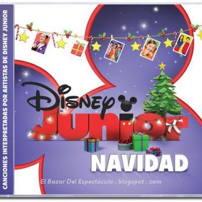 CD Disney Junior Navidad, lista de canciones: Lanzamiento 02.12.14