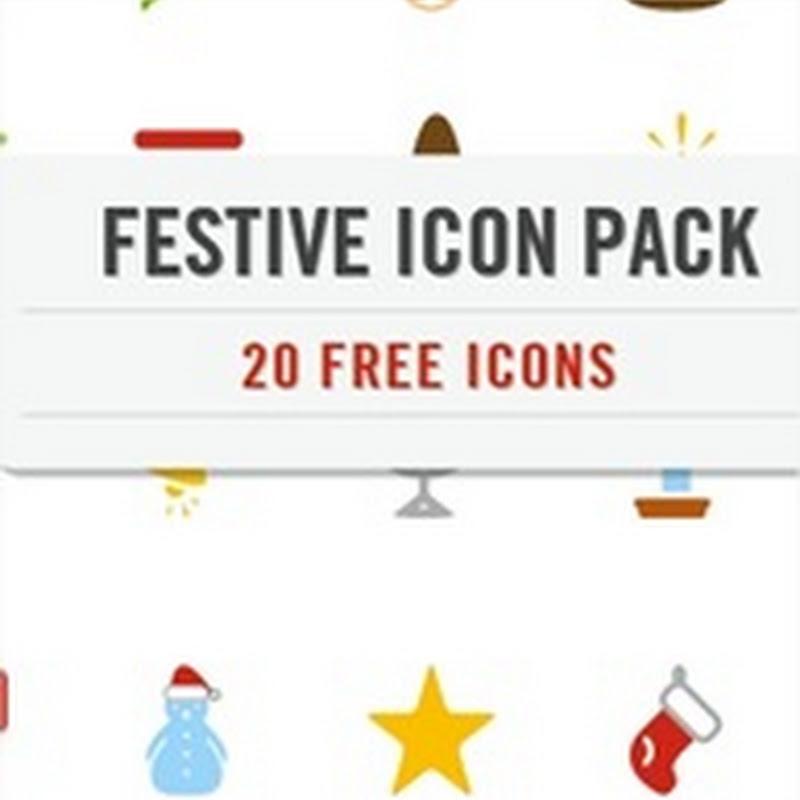 2 paquetes de íconos minimalistas para navidad
