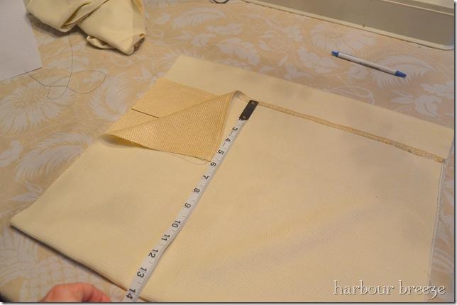 fold bottom up