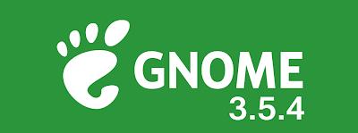 GNOME 3.5.4