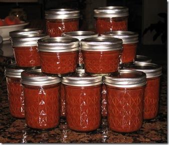 tomato catsup jarred