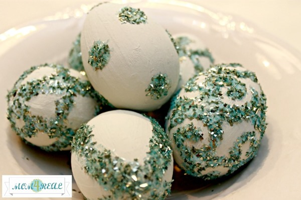 glitter-painted-easter-eggs