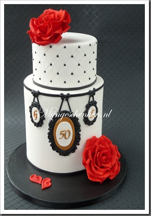 50th ANNIVERSARY CAKE 2012 007