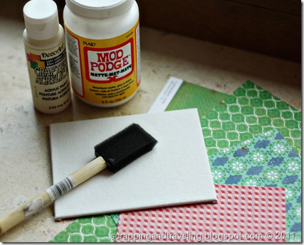 Christmas Tree Canvas Supplies