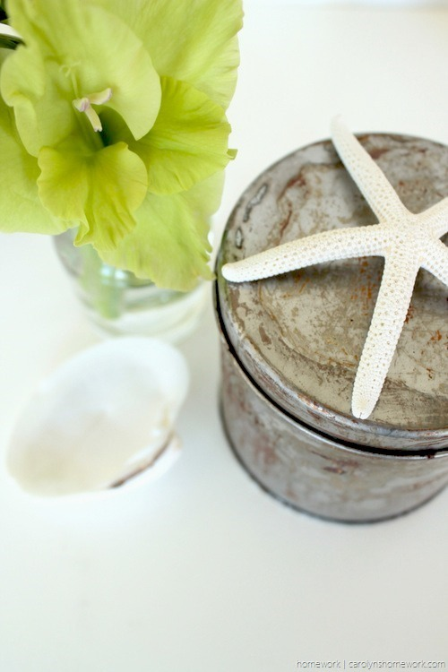DIY Galvanized Rusty Tin via homework - carolynshomework (5)