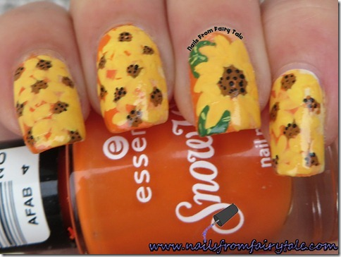 sunflowers-nail-art