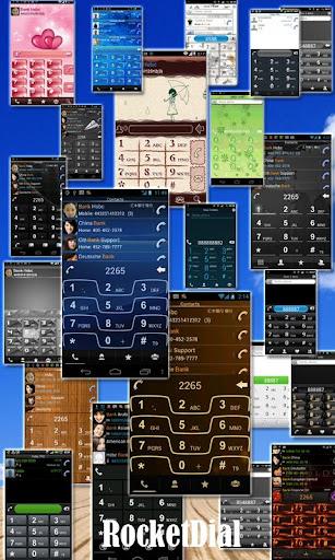 【免費通訊App】RocketDial Razr Blue Theme-APP點子