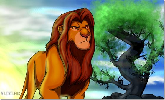 El Rey León,The Lion King,Simba (9)