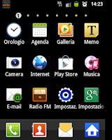 Screenshot of Logo operatore