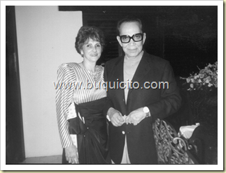 Cristinita y Cantinflas