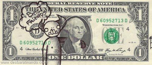 notas cédulas dollar geek nerd zoada desbaratinando  (2)