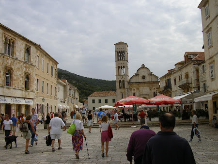 What to see in Croatia: Main street Hvar