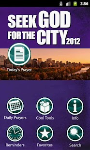 Seek God for the City 2012 - screenshot