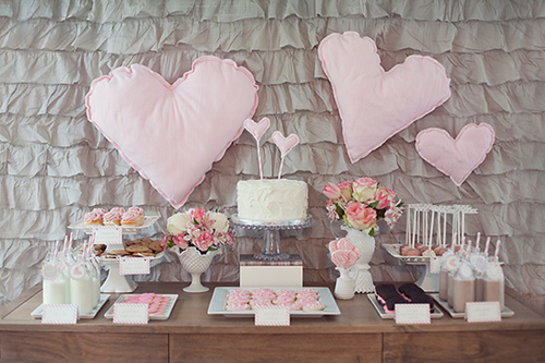 Semplicemente Perfetto Lovely Milk Pink Gray Party 01