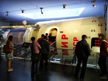 Muzeul Spatiului Moscova Baza spatiala MIR