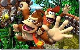 Donkey Kong Country Tropical Freeze, abelha, Diddy e Donkey