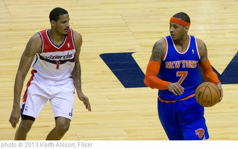 'Trevor Ariza, Carmelo Anthony' photo (c) 2013, Keith Allison - license: https://creativecommons.org/licenses/by-sa/2.0/