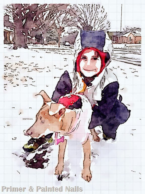 Snow Day - Waterlogue App