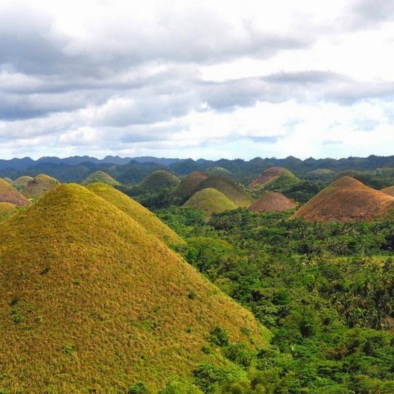 The Chocolate Hills of Bohol