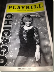 Chicago playbill