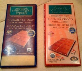 rice milk chocolate