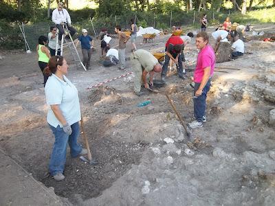 Campanya d'estiu 2012 a la vil·la romana de Noheda (Cuenca)