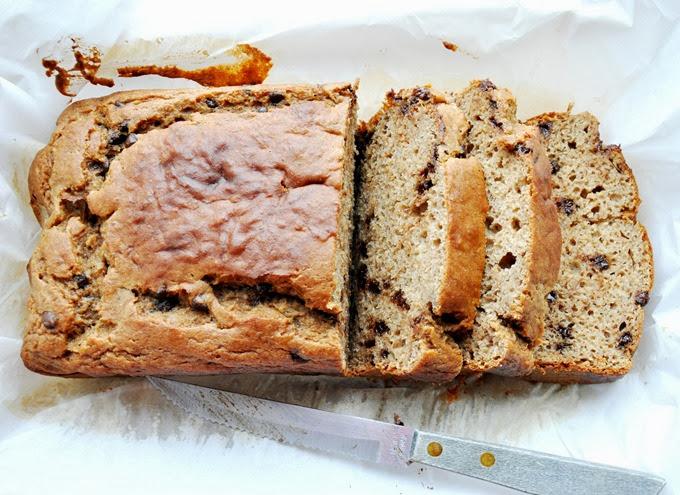 chocolate chip buttermilk banana bread 018