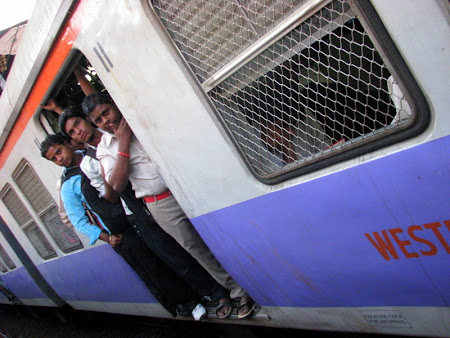 Iunia Pasca: Tren in Mumbai
