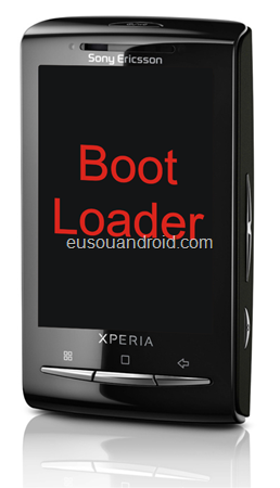 Especialista Xperia X10 Mini bootloader