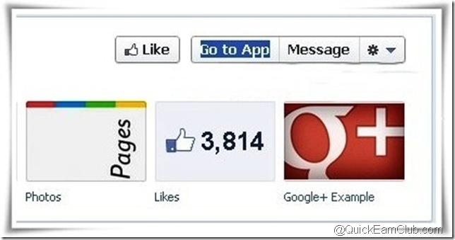 Google Plus tab for Facebook pages