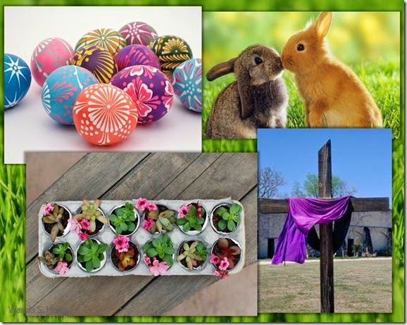 Paster Colors Easter Story Board